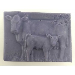 Vache et son veau